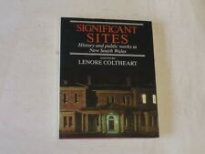 Significant Sites - History and Public Works in New South Wales, Lenore Colthear