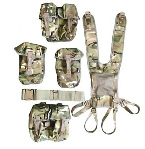 NEW - Full Set of MTP PLCE Webbing - Belt, Yoke and Four Pouches