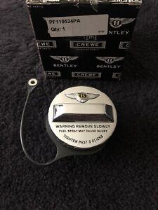 Bentley Arnage Azure Chrome Jewel Gas Fuel Filler Cap PF110524PA NEW OEM NOS NLA