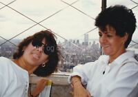 FOUND PHOTOGRAPH View From The Empire State Bldg NYC Twin Towers WTC 810 22