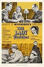 THE LADY VANISHES Movie POSTER 27x40 B Margaret Lockwood Paul Lukas Michael