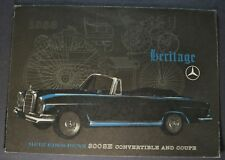 1963 Mercedes-Benz 300SE Sales Brochure Folder Excellent Original 63