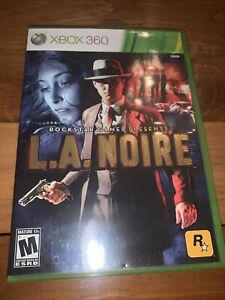 L.A. Noire (Microsoft Xbox 360, 2011) Complete And Tested