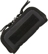 """7"""" X 3"""" (exterior) Zip Up Case For One Folding Knife, Padded Black Cordura Ac181"""