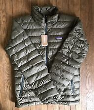 Patagonia Men's Down Sweater (regular Fit) - Size S (industrial Green) NWT