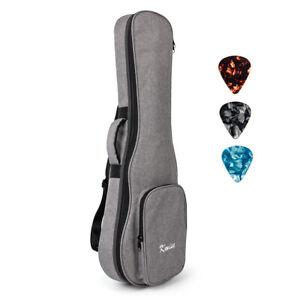 32 inch Baritone Gig Bag 6 String Guitar Shoulder Bag with 3 Picks Carry Case