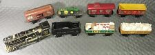 Vintage MARX Mar Lines Prewar Tin Steam Locomotive #897 with trailer's