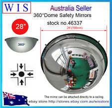"360° Full Dome Mirror,Indoor,28"" Acrylic Ceiling Mount Convex Mirror,4-way-46337"
