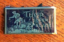 1950S Super Razor Blades Thor NOS 4 In Box