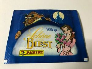1 x Panini Schöne und das Biest  Tüte von 1992 Deutsche Version Rar