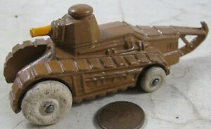 Vintage Manoil Barclay Army Vehicle Tank
