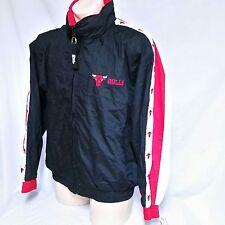VTG Chicago Bulls Pro Player Jacket Windbreaker NWT 90s Coat Colorblock NBA XL