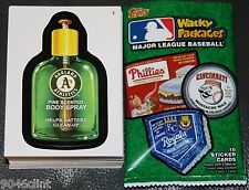 2016 TOPPS WACKY PACKAGES MAJOR LEAGUE BASEBALL COMPLETE 90 CARD SET MLB CARDS