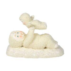 Snowbabies 6005766 My First Plane Ride Figurine
