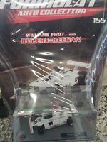 WILLIAMS FW07 1980  RUPERT KEEGAN  FORMULA 1 AUTO C. #155 MIB DIE-CAST 1:43