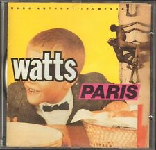Mark Anthony Thompson WATTS & and PARIS 13 track CD 1989
