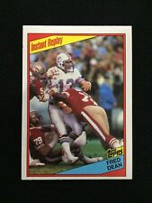DAN MARINO ROOKIE TOPPS 1984 INSTANT REPLAY FRED DEAN FOOTBALL CARD