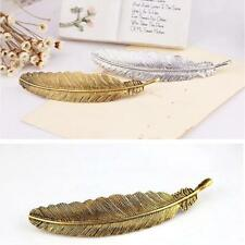 Korea Style Hair Clips Hairpin Metal Feather Chic Princess Hair Accessories HY