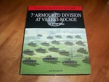 7th Armoured Division at Villers Bocage Normandy WWII Panzer Tank Battle Book