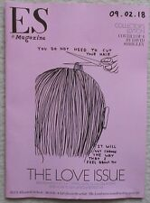 The Love Issue - cover 2 by David Shrigley – ES magazine – 9 February 2018