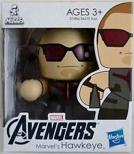 "MARVEL'S HAWKEYE The Avengers Movie Mini Muggs 3"" inch Vinyl Figure Hasbro 2012"