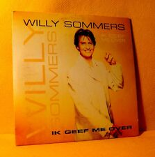 Cardsleeve Single CD WILLY SOMMERS Ik Geef Me Over 2TR 1997 Vlaamse Schlager