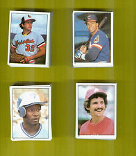 1981 Topps Baseball Sticker Set With Unused  Free Album + Wrapper