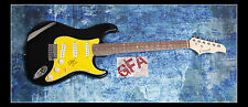 **GFA Sum 41 *DERYCK WHIBLEY* Signed Electric Guitar PROOF D4 COA**