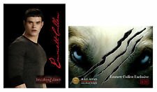 Twilight ~ NAT card ~ 'Emmett Cullen Exclusive' ~ Only 20 Made ~ New / Rare
