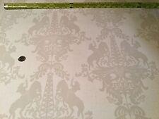 "3 Rolls Donghia STUDIO PRINTWORKS ""Yee-Ha"" Texas Damask Wallpaper SPW-W1043/10"