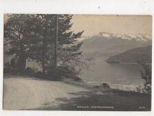 Weggis Seepromenade Switzerland Vintage Postcard Synnberg 463b