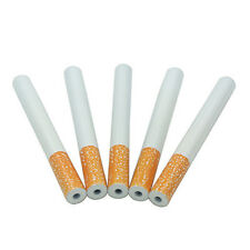 Nueva forma de cigarrillos de 5PCS de 78mm de metal bateador Tubo piragua tabaco para fumar una pipa