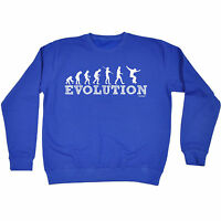 Evolution Skater Boy SWEATSHIRT birthday fashion skateboarding skateboarder