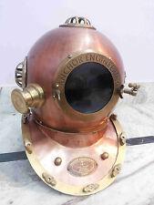 Antique Sea Deep Diving Scuba Anchor Divers Helmet Ship Collectible Mark V