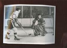 April 10 1955 Ted Lindsay 7 X 9  Hockey Photo