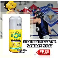 Muay Thai Namman Liniment Pain Muscle Relief Massage Sport Authentic Boxing Oil