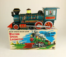 MASUDAYA MT Western Special Locomotive Japan Blech Lok OVP 3230 boxed Tin Toy