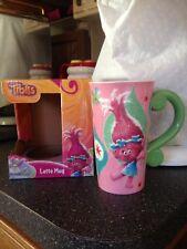 Trolls Poppy & Branch All That Glitters is Troll Jumbo Latte Mug Cup Pitcher Nib