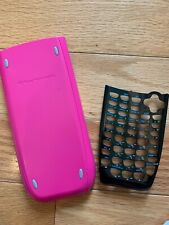 Face Plate Black Texas Instruments Ti-84 Plus Calculator Black Slide Cover Pink