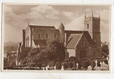 Hythe Parish Church Kent England 1955 Rppc Postcard Us051