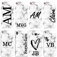 Personalised Phone Case/Cover for Most Mobiles Initial/Text/Name/Custom