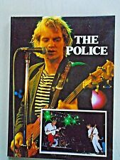 """the Police / Rare Original Hard Cover Photo Book / New cond. 8 x 10"""" / 50 pages"""