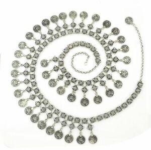 Coin Tassel Waist Belt Turkish Gypsy Boho Beach Belly Festival Jewelry Fashion