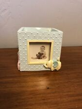 Baby Picture Frame Unisex Multi Color 4� Tall Lightly Used