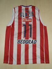 Shirt Maillot Tank Top Basketball Star Red Belgrade Blazic 11 Size L