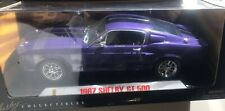 1967 Shelby GT 500 1/18 Purple Black Stripes Shelby Collectibles  NEW in BOX