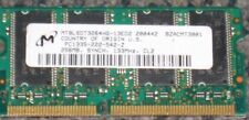 256mb Pc133 Cl2 16x16 8chips 144pin Sodimm Xerox Phaser 7300n 7300dn RAM Testé