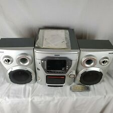 RCA RS2663 Compact Stereo System 5-Disc CD Player AM FM Radio Home Bookshelf