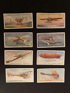 Lambert & Butler Aviation 1915 8/25 Cigarette Cards