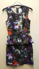H&M Dress Floral Dress Size UK4, EUR 32 Women's Dress Petite Dress Mini Dress